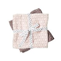 Done by Deer Baby Swaddle Balloon design – powder pink