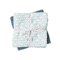 Done by Deer Baby Swaddle Balloon design – blue