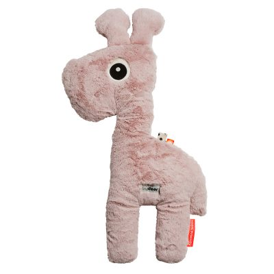 This super soft giraffe will be your child's best friend for years to come. Easy to fit in the bed and in the car. Also available as a elephant or crocodile.