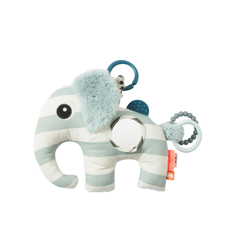 Done by Deer Baby Activity Toy – Elephant - Elphee - Blue