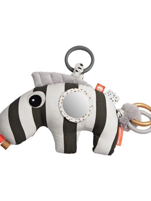 Done by Deer Baby Activity Toy -Zebee – black