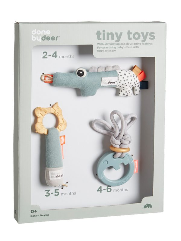 Done by Deer Tiny Toys Rattle Set
