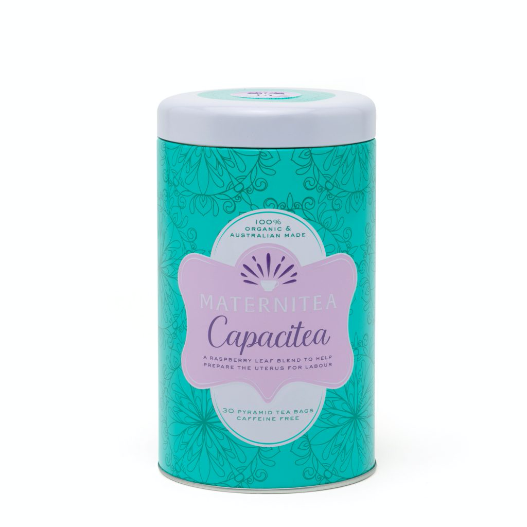 Capacitea raspberry leaf tea bag blend