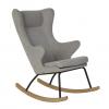 Quax Deluxe Nursing Rocking Chair - Sand Grey