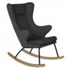 Quax Deluxe Nursing Rocking Chair - Black