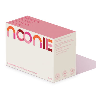 The Cooling Padsicles - Noonie Organic Cotton Instant Cooling Maternity Pads